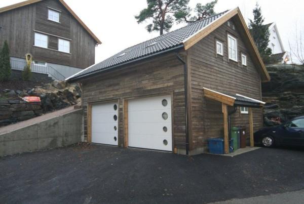 bergensgarasjen.no, garasje tilpasset terreng